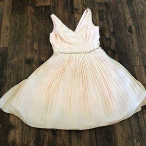 NWT pale peach dress